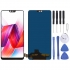TFT Material Display LCD and Digitizer Assemblato completo per OPPO R15(Black)